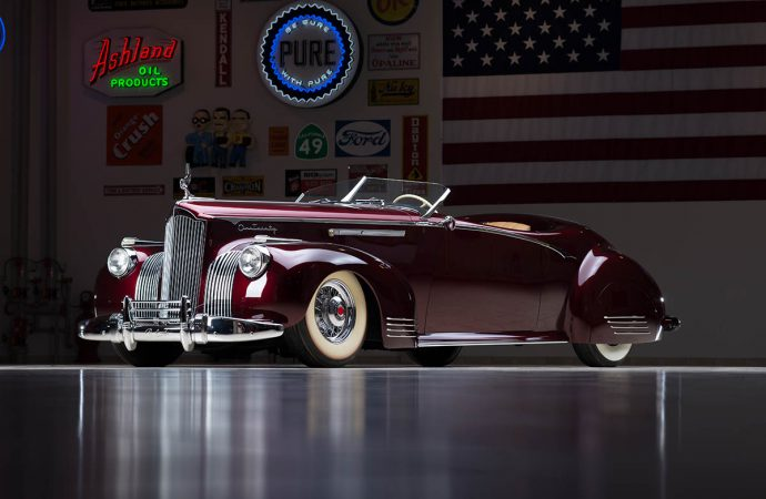 Countdown to Barrett-Jackson: 1941 Packard D'Agostino Custom 'Gable'