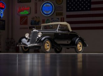 Countdown to Barrett-Jackson: 1934 Ford Model 40 Deluxe Roadster
