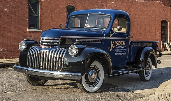 A 1941 Chevy pickup from the Kisber collection | Mecum Auctions