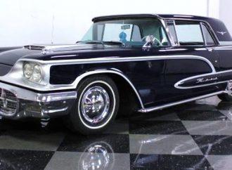 1960 Ford Thunderbird custom coupe