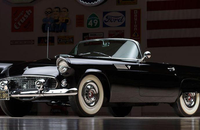 Countdown to Barrett-Jackson: 1955 Ford Thunderbird VIN #0005