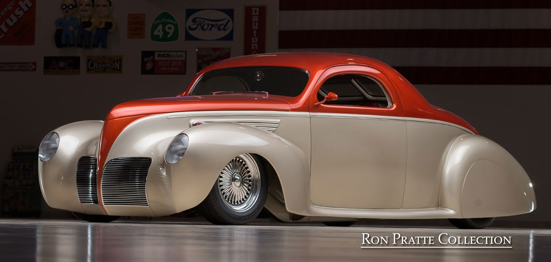 Countdown To BarrettJackson Lincoln Zephyr V Street Rod - Good guys classic cars for sale