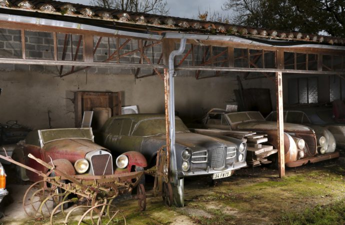 Barn find of barn finds? Expert weighs in on 60-car discovery in France
