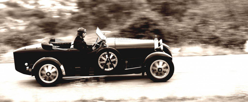 Malcolm Campbell raced his Bugatti Type 43 in 1928 - Artcurial photos