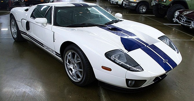 A 2005 Ford GT was the top-selling car at the Kansas City Auction | Mecum Auctions