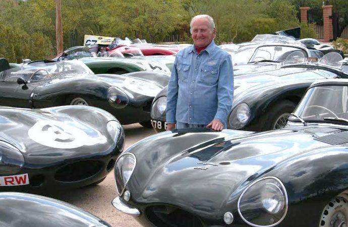 Famed Jaguar test engineer, driver Norman Dewis, 94, receives royal honor