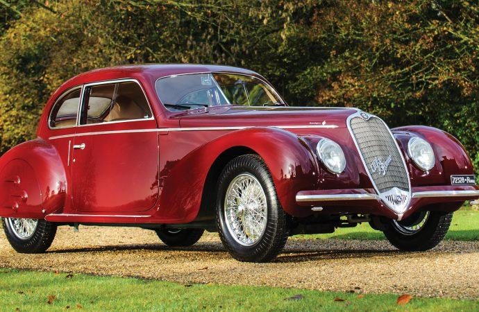 Mussolini-linked '39 Alfa Romeo in RM's Paris auction