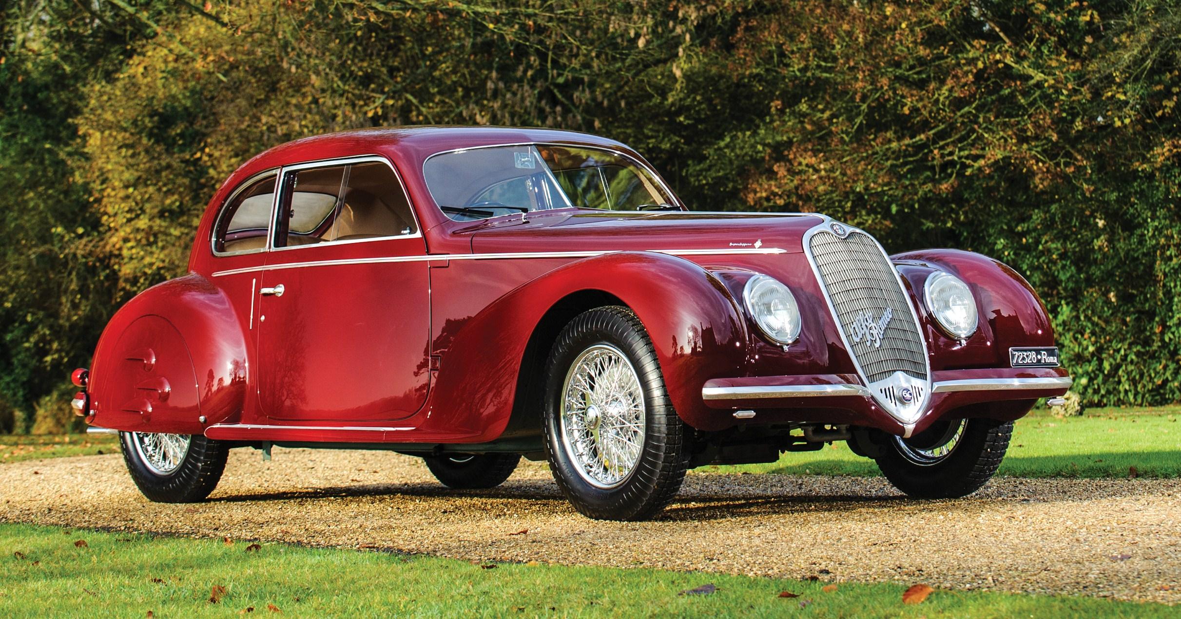 Mussolini linked 39 alfa romeo in rm 39 s paris auction for Garage alfa romeo paris
