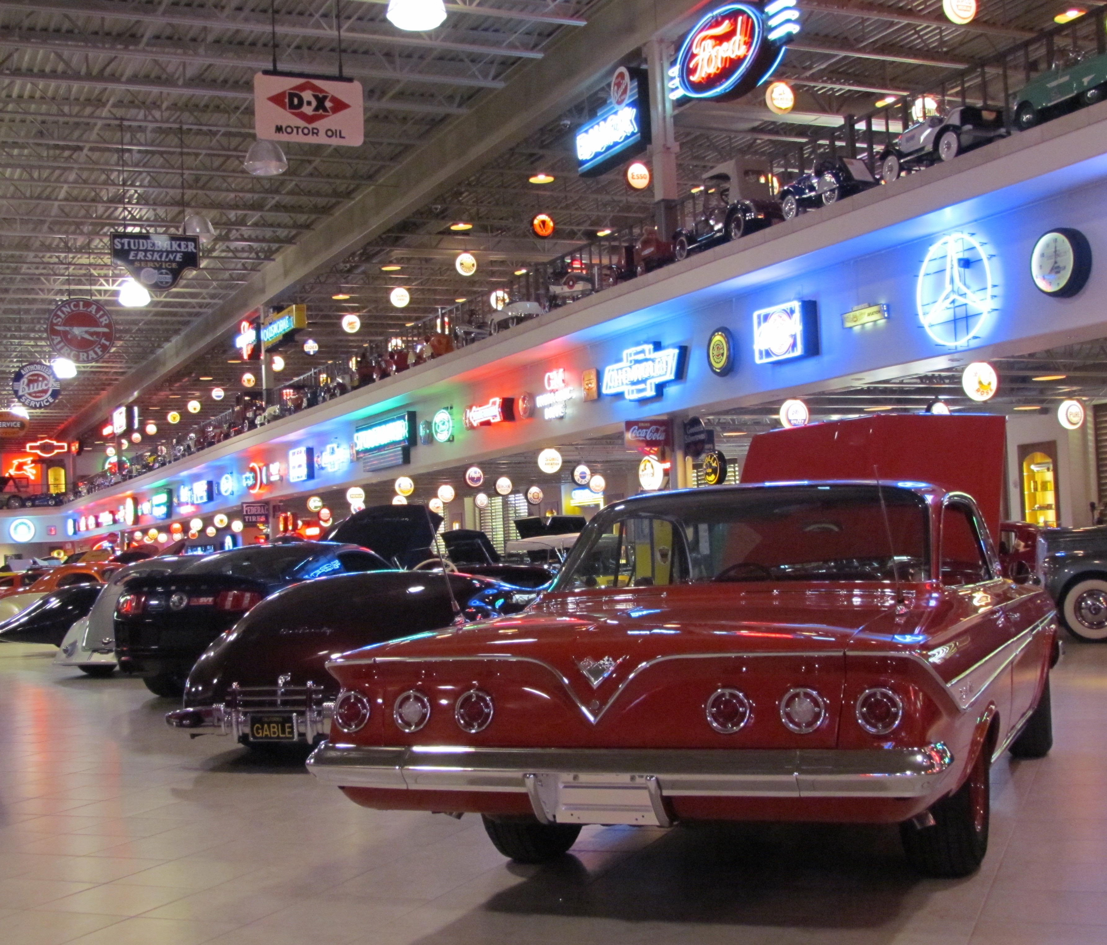 ron pratte compiled an amazing collection of cars and automobilia larry edsall photos