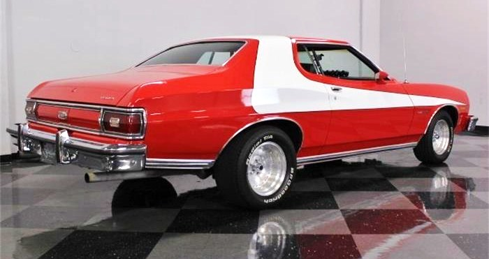 The muscle car is exceptionally well-finished, the seller says