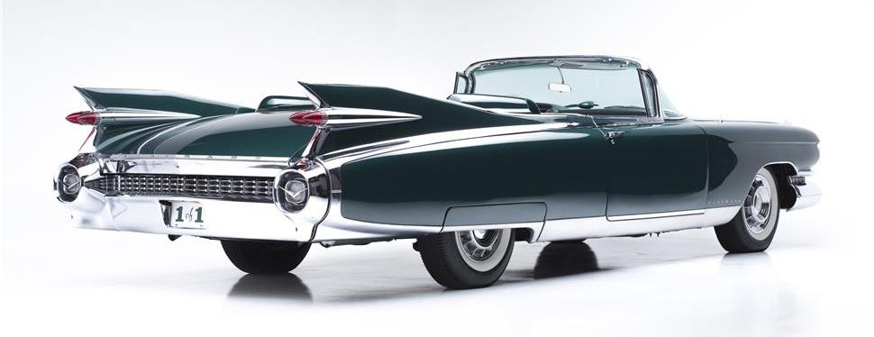 '59 Caddy is mid-century American classic | Barrett-Jackson photo