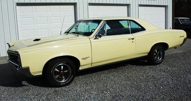The GTO has been 'nicely restored,' the seller says