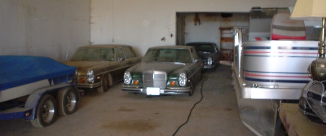Barn-found Benzes | Faris brothers photos