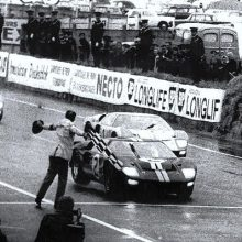 1966 Le Mans-winning GT40 undergoing restoration by RK Motors in Charlotte
