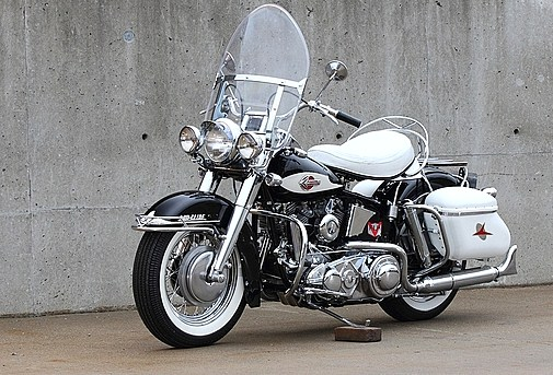A 1959 Harley-Davidson once owned by rocker Jerry Lee Lewis