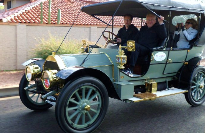 Along for the ride in the Arizona Concours driving tour