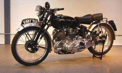 The 1950 Vincent White Shadow topped the Vegas sale | Bonhams