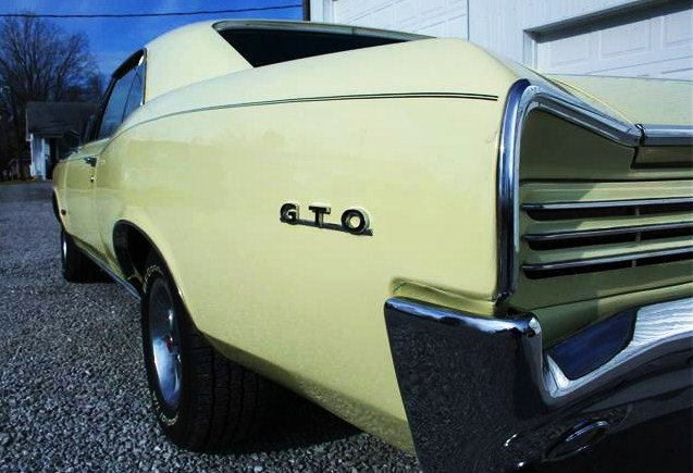 The classic 1966 Pontiac GTO presents great cruising possibilities at an affordable price