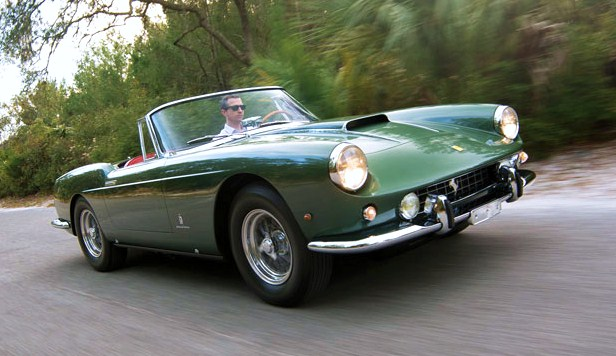 Rare 1960 Ferrari 400 Superamerica cabriolet being sold for charity at RM's Amelia Island auction