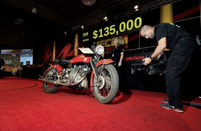 Mecum motorcycle auction tops $7.2 million