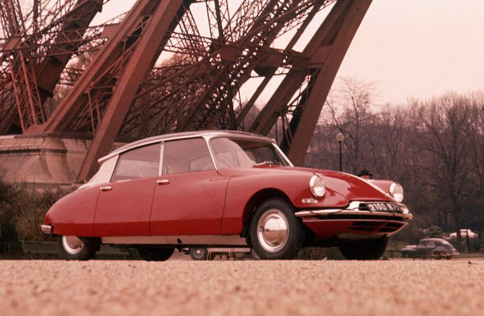The goddess that saved a French president will be celebrated at Retromobile