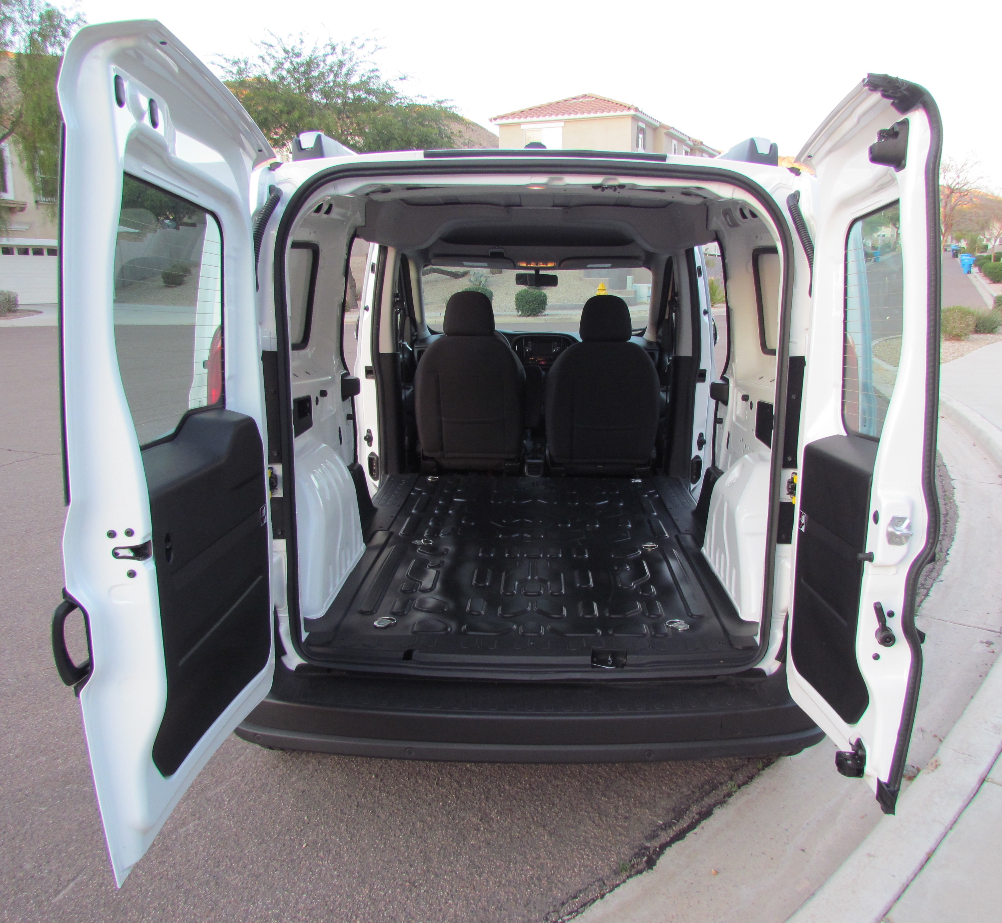 Driven 2015 Ram Promaster City Cargo Van Journal