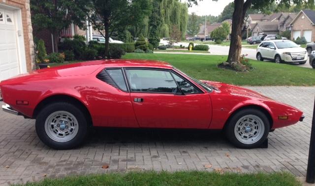 My Classic Car: David's 1973 De Tomaso Pantera