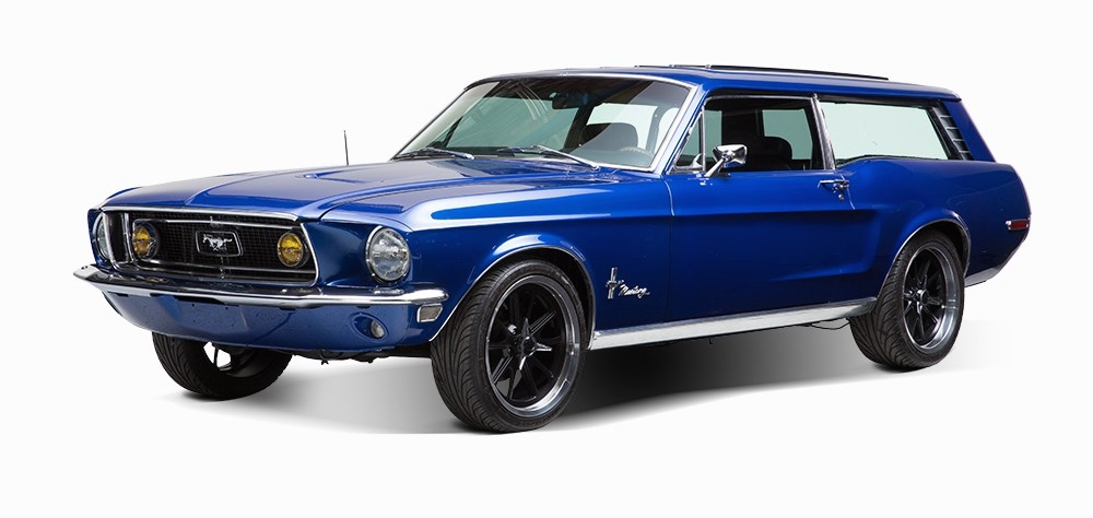 Custom-built 1968 Ford Mustang sport wagon up for bidding | Auctionata photos