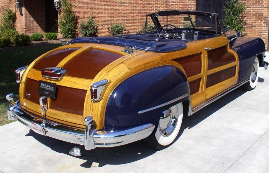 A 1947 Chrysler Town and Country was once a cheap ride | Barrett-Jackson