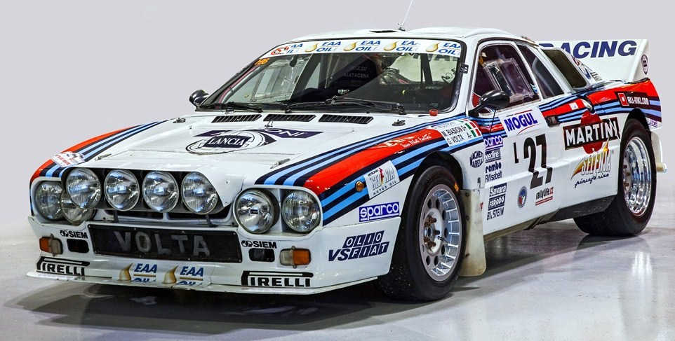 The 1983 Lancia 037 was one of the hottest entries in World Rally Championship | Campion Collection photos
