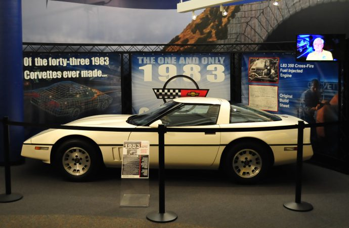 Only remaining '83 gets featured spot at Corvette museum