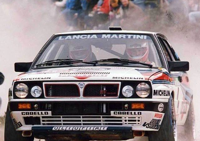 Exotic Lancia rally racers star at Amelia Island Concours