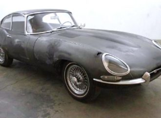 Barn-found' 1964 Jaguar XK-E coupe
