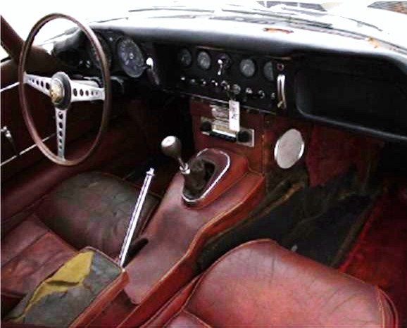 The original interior looks like it could be salvageable
