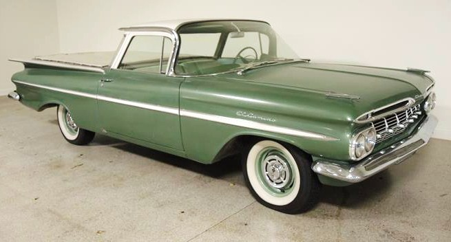 The 1959 Chevy El Camino is a survivor with just over 36,000 miles showing on its odometer