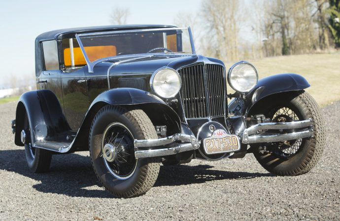 Preserved 1930 Cord L-29 Town Car joins Bonhams' Amelia Island auction