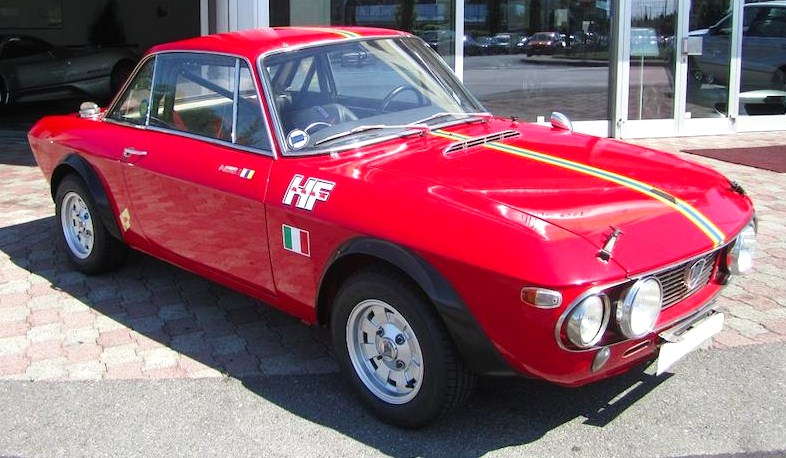 The attractive 1969 Fulvia began Lancia's WRC domination
