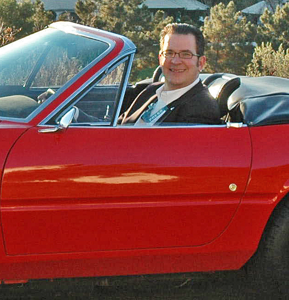 Andy Reid spent his college money on a Ferrari