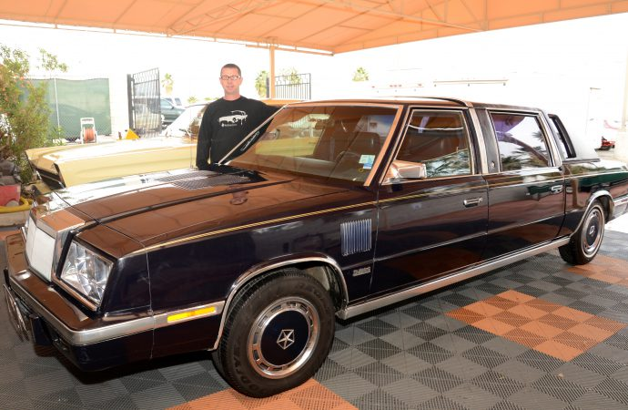 Frank Sinatra's limo for sale at McCormick's Auction