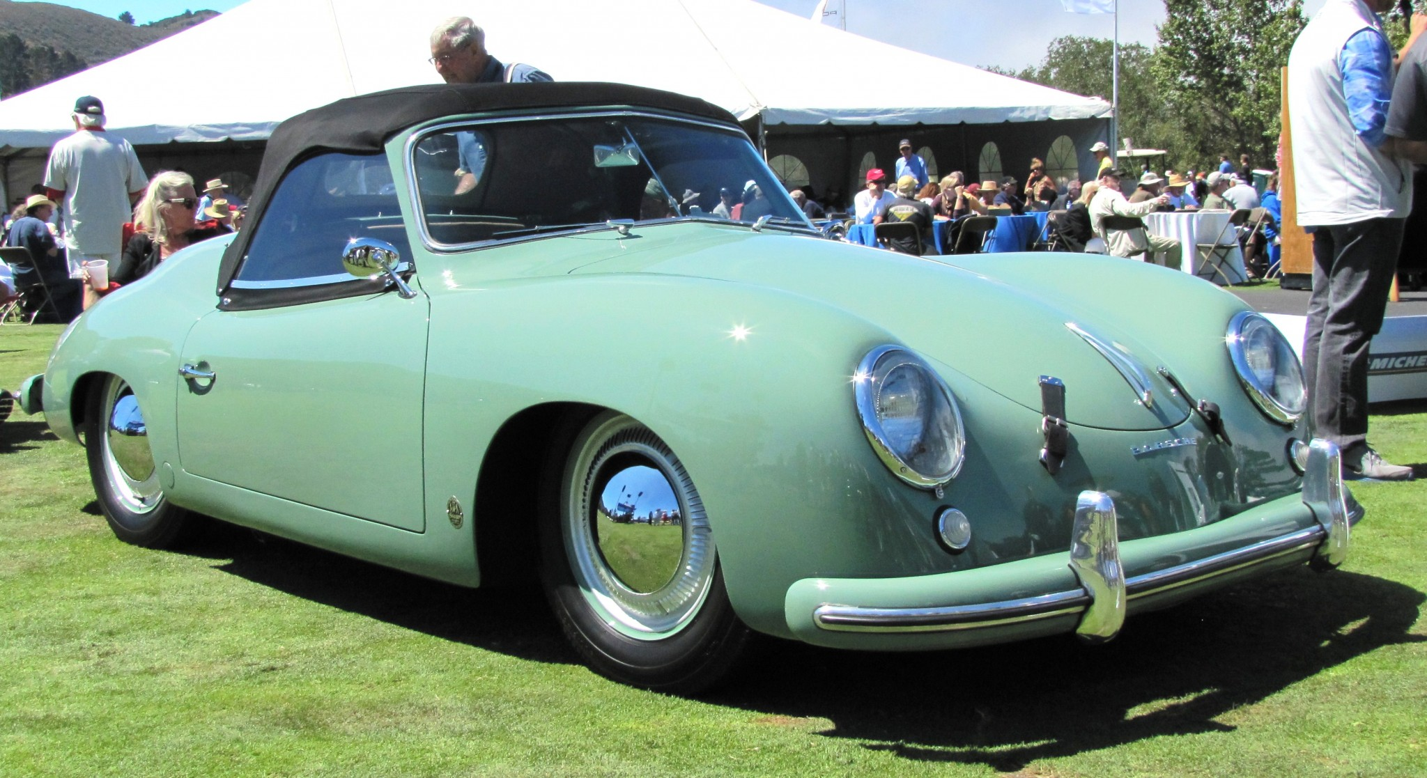 The rare and valuable 1953 Porsche 356 America roadster was just another used  car in 1955