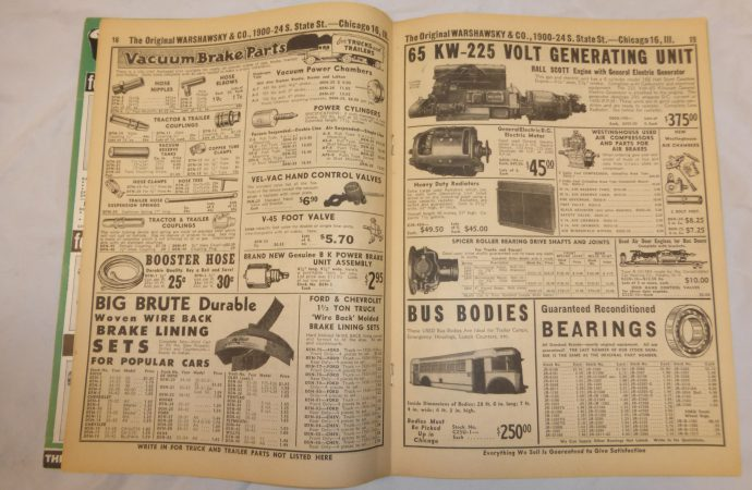 JC Whitney shares a century of auto parts oddities