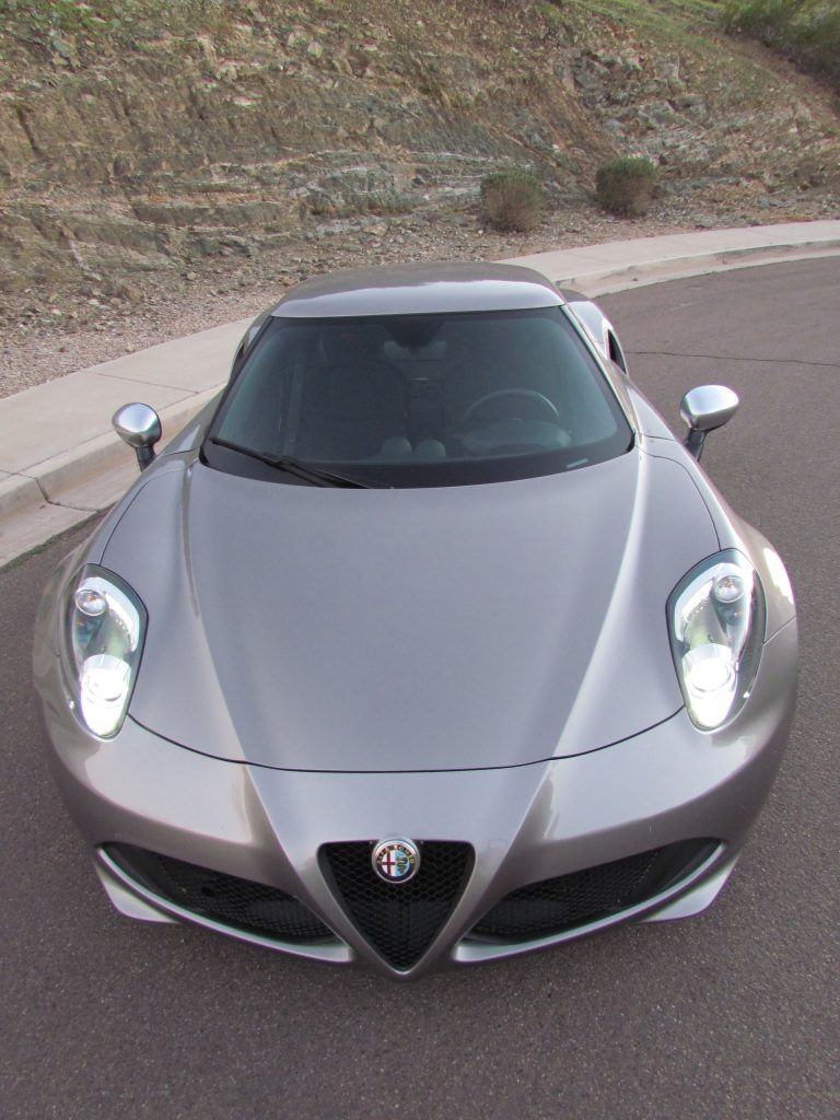 Alfa Romeo 4C hugs the road | Larry Edsall photo