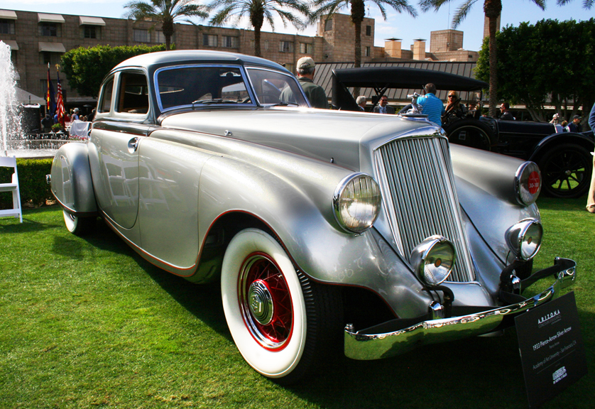 A rare 1933 Pierce-Arrow Silver Arrow at January's concours| Robert Diepenbrock