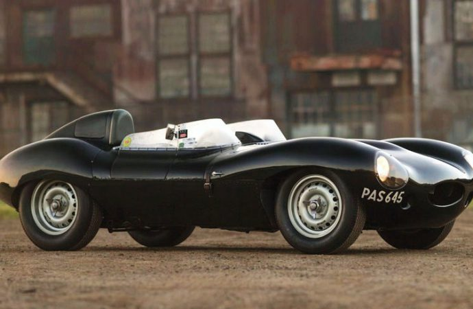 Reborn 1955 Jaguar D-type headed to RM Sotheby's auction at Amelia Island