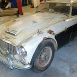 1960 Austin Healey 3000 BT7 –