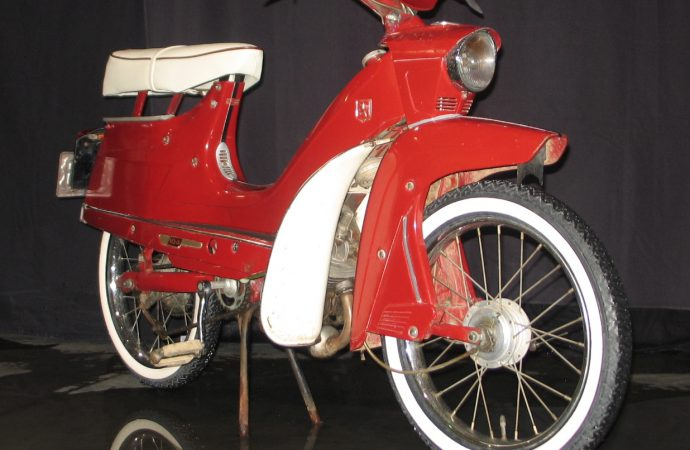 'Motorbikes for the Masses' exhibit runs through October 11 at AACA Museum