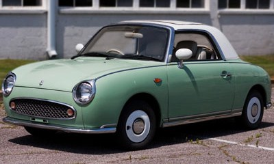 This Nissan Figaro could be your rally car | Lane Museum