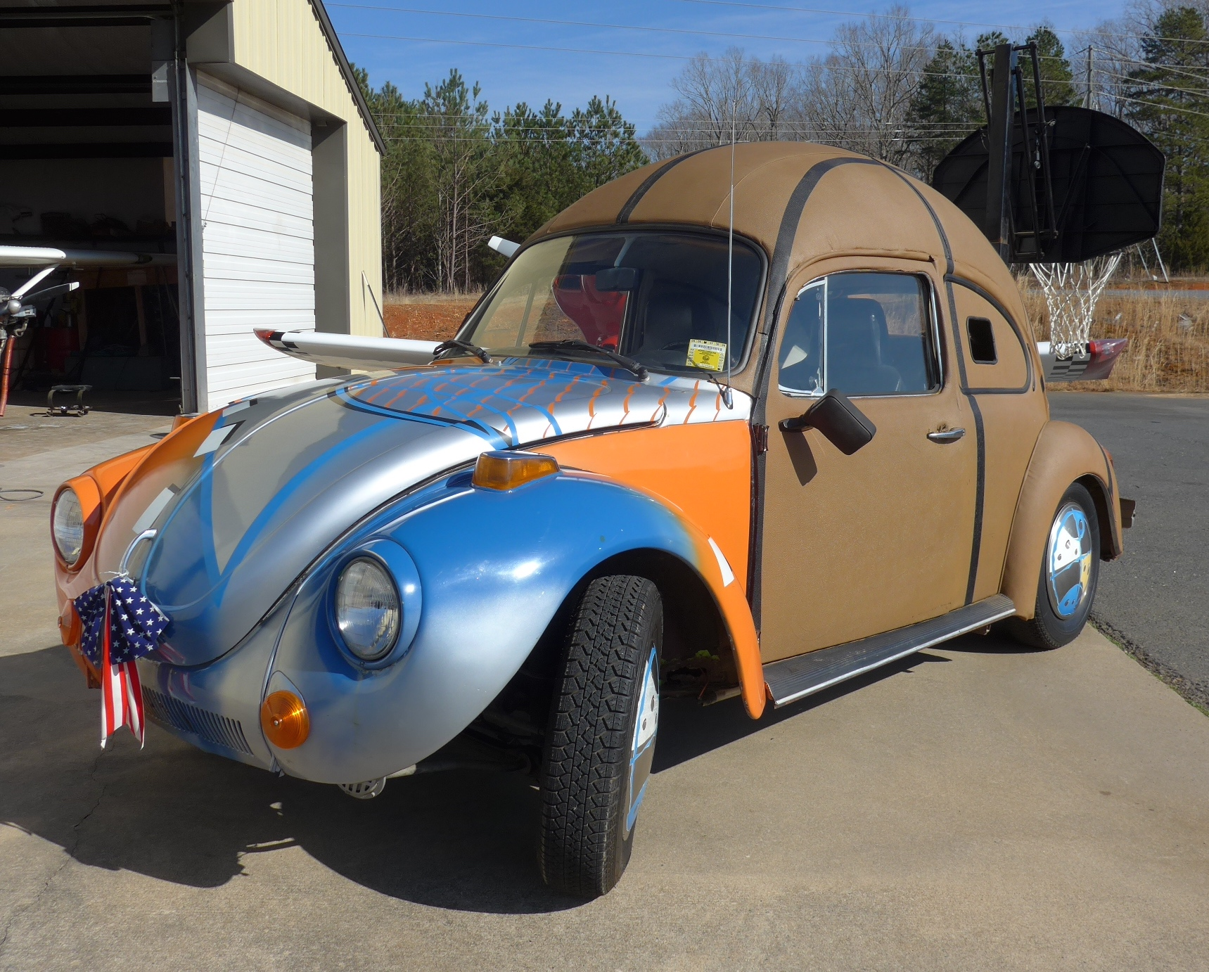 1975 Vw Super Beetle