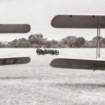 79215flyw-Tiger Moths and GP Sunbeam. Credit Sophie Bolesworth. Bicester Heritage