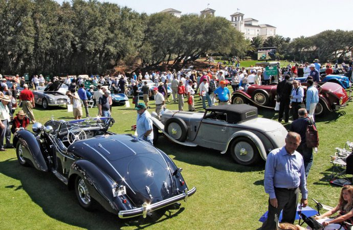 Amelia Island calls for my first Florida concours weekend